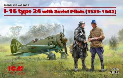 I-16 type 24 with Soviet Pilots(1939-42) Limited Edition