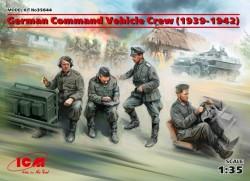 German Command Vehicle Crew (1939-1942) (4 figures)