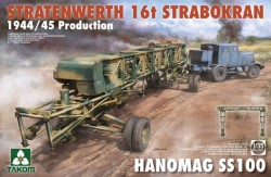 Stratenwerth 16t Strabokran 1944/45 + Hanomag SS100