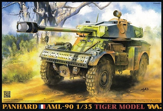 Panhard AML-90 Light Armoured Car full-interior
