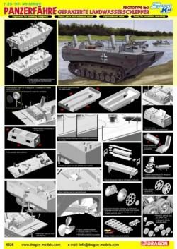 Panzerfähre Gepanzerte Landwasserschlepper Prototype Nr. 1