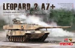 German Main Battle Tank Leopard 2A7+
