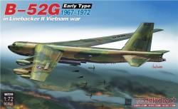 B-52G early type in Linebacker II Vietnam war 1967-1972