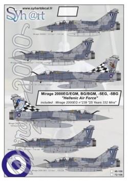 "Mirage 2000EG/EGM, BG/BGM, -5EG, -5BG ""Hellenic Air Force"""