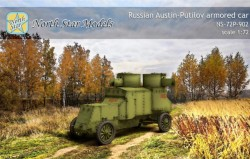 Russian Austin-Putilov plastic kit with PE, resin and Decal