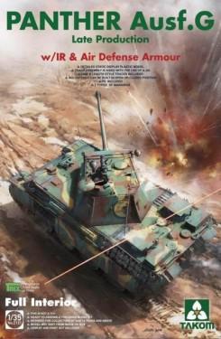 German medium Tank Panther Ausf.G late production w/IR & Air Defense