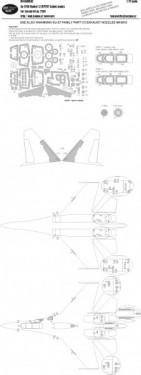 Su-27UB Flanker C EXPERT kabuki masks
