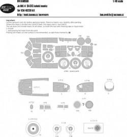 Ju 88C-6 BASIC kabuki masks