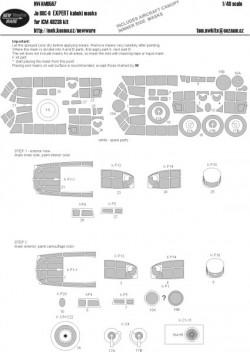 Ju 88C-6 EXPERT kabuki masks