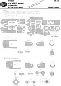 Ju 88C-6b EXPERT kabuki masks