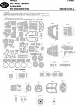 He 111 H-16 BASIC kabuki masks