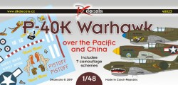 P-40K Warhawk over the Pacific and China