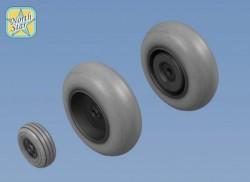 Wheels set for Focke Wulf FW.189 No Mask series