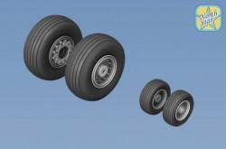 General Dynamics F-111 Aardvark C/G and FB-111A wheels set No mask series