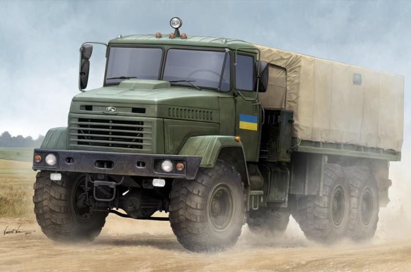 """KrAZ-6322 """"Soldier"""" Cargo Truck"""