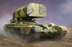 Russian TOS-1 Multiple Rocket Launcher Mod.1989