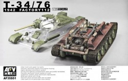 T-34/76 1942 Factory 112 w.transparent turret turret (Limited)