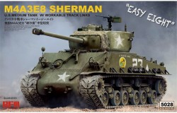 SHERMAN M4A3E8 W/Workable Track links