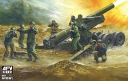 8 inch Howitzer M1 WWII