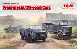 Wehrmacht Off-road Cars (Kfz1,Horch 108 Typ 40, L1500A)