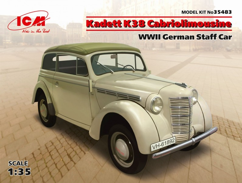 Kadett K38 Cabriolimousine,WWII German Staff Car
