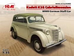 Kadett K38 Cabriolimousine,WWII German Staff Car