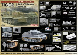 Tiger I Mid-Production w/Zimmerit Otto Carius (Battle of Malinava Village 1944)