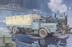 Vomag 8 LR LKW WWII German Heavy Truck