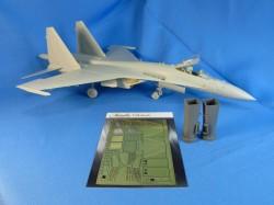 Su-35. Air intakes (Kitty Hawk)