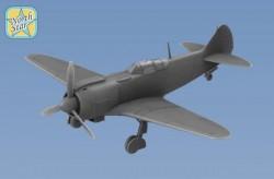 Soviet WWII Fighter La-5 FN resin model