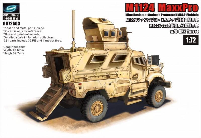 M1224 MaxxPro MRAP with OGPK Turret