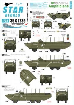 US Amphibians Ford GPA and DUKW  75th-D-Day-Special