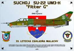 Suchoj Su-22UM3 K Fitter G