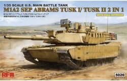 M1A2 TUSK I/ TUSK II WITH FULL INTERIOR