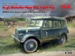 le.gl.Einheitz-Pkw Kfz.1 Soft Top,WWII German Light Personnel Car