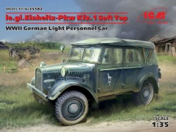 le.gl.Einheitz-Pkw Kfz.1 Soft Top,WWII German Light Personnel Car