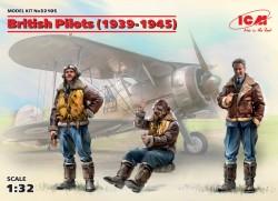 British Pilots (1939-1945)(3 figures)