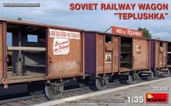"Soviet Railway Wagon ""Teplushka"