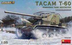 Tacam T-60 Romanian Tank Destroyer. Interior Kit