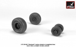 SH-60 Seahawk wheels w/ weighted tires