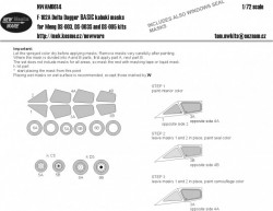 F-102A Delta Dagger BASIC kabuki masks