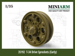 T-34 Drive Sprockets (Early type)