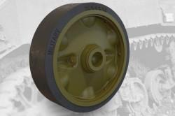 US light tank M5A1/M8 HMC stamped roadwheels set A