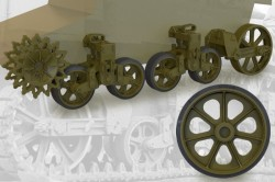 US light tank M3/M3A1/M5 suspension set