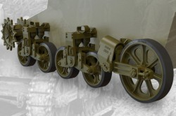 US light tank M5/M5A1/M8 HMC suspension set