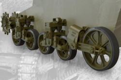 US light tank M5/M5A1/M8 HMC suspension set