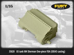 US tank M4 Sherman One-piece FDA (E8543 casting)