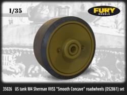 US tank M4 Sherman VVSS