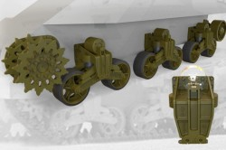 US tank M3 Lee/Grant suspension set