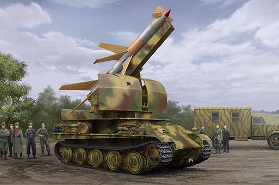 Flakpanther w/8.8cm Flakrakete Rheintochter I